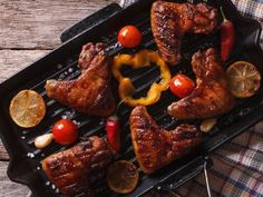 Coffee Glazed Chicken Wings