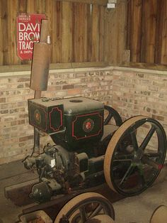 Ruston Hornsby stationary engine. In addition to photography, I am interested in all forms of classic and vintage transport, I also enjoy producing high quality paintings of these subjects in oils.  http://jamessetevensart.carbonmade.com/about