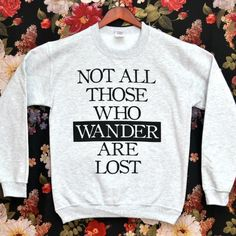 Those Who Wander Sweater