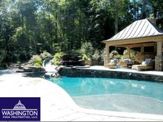 10605 Willowbrook Drive in Potomac, MD has one of the most impressive backyards we have ever seen! See for yourself!