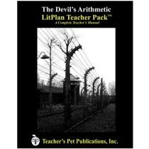 LitPlan Teacher Pack For The Devil's Arithmetic--Complete unit of study; open and teach. Includes study questions, vocabulary, daily lessons with assignments & activities, unit tests, writing assignments, review materials...everything you need.