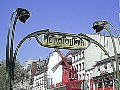 #Paris #Parigi #France #Francia #metropolitain #metropolitana #pigalle #moulinrouge