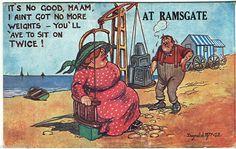 Donald McGill Comic Postcard