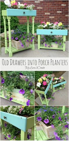 http://www.mylove2create.com/2014/07/old-drawers-into-porch-planters.html