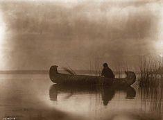 Edward Curtis photo - A Kutenai duck hunter, in Native American Wisdom, Native American Photos, Native American Tribes, Native American History, American Indians, American Life, Cherokee History, American Quotes, Edward Curtis
