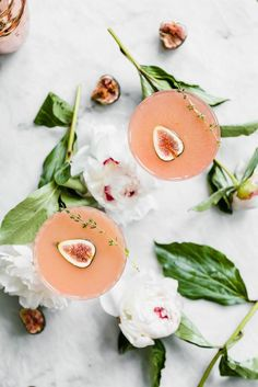 Fig and Thyme Cocktail - so, so pretty!