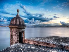 La Garita del Morro - (HDR Viejo (old) San Juan, Puerto Rico) by blame_the_monkey, via Flickr