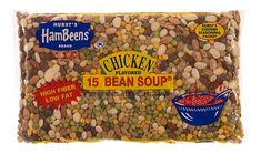 Gardening from the Grocery Store -- 15 Bean Soup Mix makes 13 different plants (split peas will not sprout).