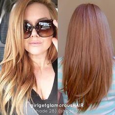 82 Likes, 6 Comments - hair extensions At Home Hair Color, Hair Colour, Strawberry Blonde Hair Color, Haircut And Color, Hair 2018, About Hair, Fall Hair, Hair Inspo, Dyed Hair