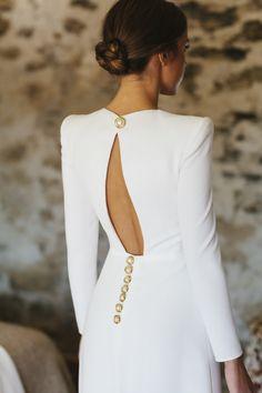 Inés y su Espectacular Vestido de Valenzuela | Ynosfuimosdeboda Fabulous Dresses, Stylish Dresses, Elegant Dresses, Cute Dresses, Beautiful Dresses, Classy Dress, Classy Outfits, Dress Outfits, Fashion Dresses