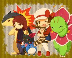 Pokémon like Lyra better XD