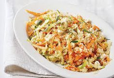 Salade de quinoa aux courgettes et carottes - Recette Thermomix Aude