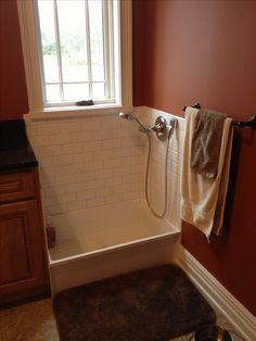 Dog wash station. We would be going crazy without this in our house!!