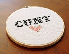 CNT Cross Stitch PATTERN MATURE by ModernGrandma on Etsy