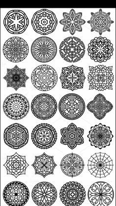 Zantangle Art, Dot Art Painting, Mandala Painting, Mandala Art, Mandala Pattern, Zentangle Patterns, Mandala Design, Hexagon Tattoo, Geometric Sleeve Tattoo