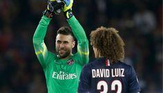Sirigu - David Luiz - PSG  (Reuters)