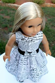 Hey, I found this really awesome Etsy listing at https://www.etsy.com/listing/190330274/ag-doll-dress-making-headlines