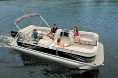 Princecraft's Vectra 23 is a versatile pontoon with good looks.