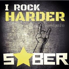 I have always been into rock music and playing instruments  but rocking out my Recovery is something I keep getting better at the more I practice at it too! So I was grateful to have found this rocking meme from @party.0 cuz it inspired me to get to my passion and go play some drums! What about you? What will you rock in Recovery today? - - For more sober and Recovery inspiration go to Substanceforyou.com by clicking the link in the bio to join our grateful community network! - -