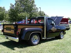 Dodge Midnite Express. Probably the coolest truck from my birth year