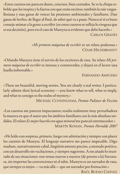 Contratapa de mi libro MI FAMILIA Y OTRAS MISERIAS (Lima, 2013).