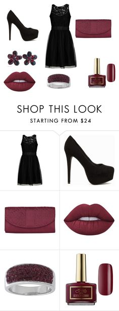 """""""set7"""" by mujo-ziba ❤ liked on Polyvore featuring Jolie By Edward Spiers, Nly Shoes, Travelon, Lime Crime, Crystal Avenue, Ciaté and NOVICA"""