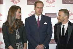 Kate Middleton Photos Photos - Prince William, Duke of Cambridge, Catherine, Duchess of Cambridge and Gary Barlow (R) attend a concert in support of The Prince's Trust and The Foundation of Prince William and Prince Harry at the Royal Albert Hall on December 6, 2011 in London, England. - Members Of The Royal Family Attend The In Support Of Young People Concert