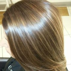 From platinum blonde to rich brown with caramel copper highlights by Kacie Kurz