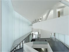 The Nelson-Atkins Museum of Art extension by Steven Holl Architects.