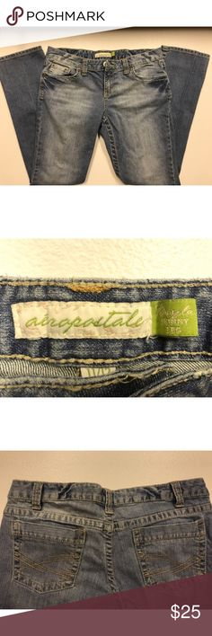 Aeropostale Jeans, SIZE; 11/12 Regular! Good condition Aeropostale Jeans! Size: 11/12 REGULAR Aeropostale Jeans Skinny