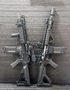Build Your Sick Custom Assault Rifle Firearm With This Web Interactive Firearm Gun Builder with ALL the Industry Parts - See it yourself before you buy any parts Military Weapons, Weapons Guns, Guns And Ammo, Military Army, Tactical Rifles, Firearms, Shotguns, Revolver, M4 Airsoft