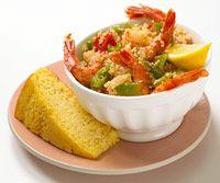 Shrimp and Couscous Jambalaya