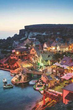 Popeye Village. Malta.