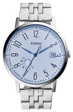 Women's Fossil 'Vintage Muse' Multifunction Bracelet Watch, 40mm