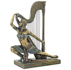Song of the Nile Egyptian Dancer Statue