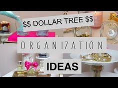 Dollar tree Organization Ideas- Collab with LoveMeg! - YouTube