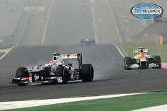 Gran Premio de India en el Buddh International Circuit. #GPindia 2012 #checoperez