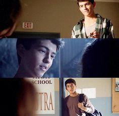 Ian nelson did a great job of playing baby Derek.
