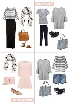 Travel style  How to plan cute outfits for vacation in a carry-on (Extra  Petite) 1d9faf5db0987