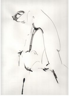 akt 15.11.13 figure drawing, ink by tatjana trynkun on Flickr.