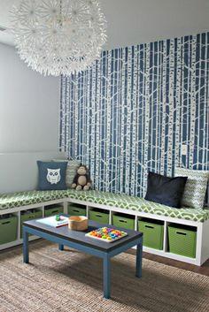 Kinderzimmer Tapeten - farbige Ideen für Ihr Interieur  -