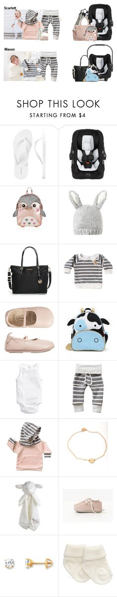 """""""6.12.17//Flight to Melbourne"""" by littlekidsfashion ❤ liked on Polyvore featuring Old Navy, The Honest Company, Accessorize, MICHAEL Michael Kors, Skip Hop, H&M, Bebe, Personalized Planet and Oxford"""