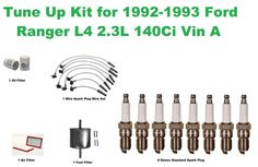 Tune Up Kit for 20012010 Ford Ranger Spark Plug Wire Set