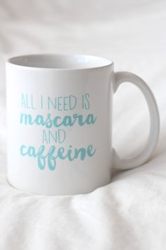 Mascara and Caffeine Mug – Wild Daisy