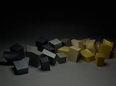 Inspired by the formal appearance of rock crystals, the calendar consists of 24 individual cubes which can be arranged in a sculptural composition. Cubes, Composition, Calendar, Sculpture, Traditional, Rock, Gift Packaging, Inspired, Crystals