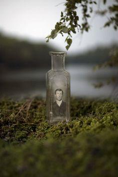 Old Souls Captured in a Bottle - My Modern Metropolis -  great idea