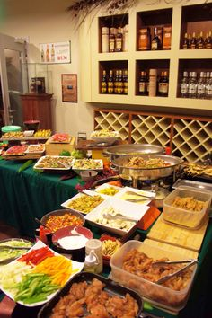Foodstation during your event