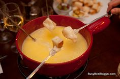 Grab Your Dipping Forks, Today Is National Cheese Fondue Day! #dinner #party #retro #cheese #fondue #70s #80s