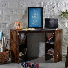 Buy Online Corner Desk in Sydney from wooden desks Sydney Store in Australia. Offers Available Up to 40% OFF on Corner Study Desk, Corner Computer Desk, wooden corner desk. Wooden Corner Desk, Wooden Desk, Study Room Furniture, Home Furniture, Seasoned Wood, Buy Furniture Online, Solid Wood Furniture, Open Shelving, Desks