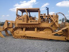 Allis Chalmers H 3 Crawler Tractor And Dozer A C